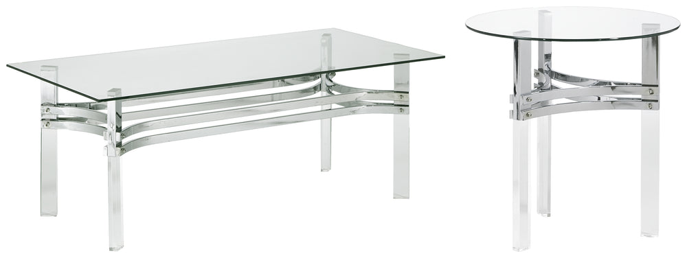 Braddoni Signature Design 2-Piece Table Set