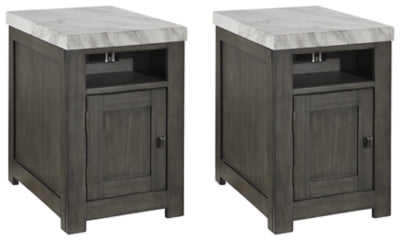Vineburg Signature Design 2-Piece End Table Set
