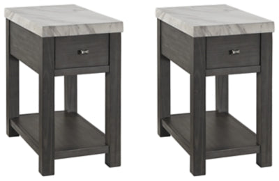Load image into Gallery viewer, Vineburg 2-Piece End Table Set