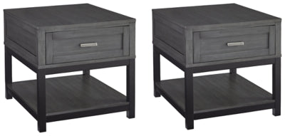 Caitbrook Signature Design 2-Piece End Table Set