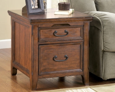 Woodboro Signature Design by Ashley End Table with Power Outlets
