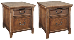Woodboro 2-Piece End Table Set
