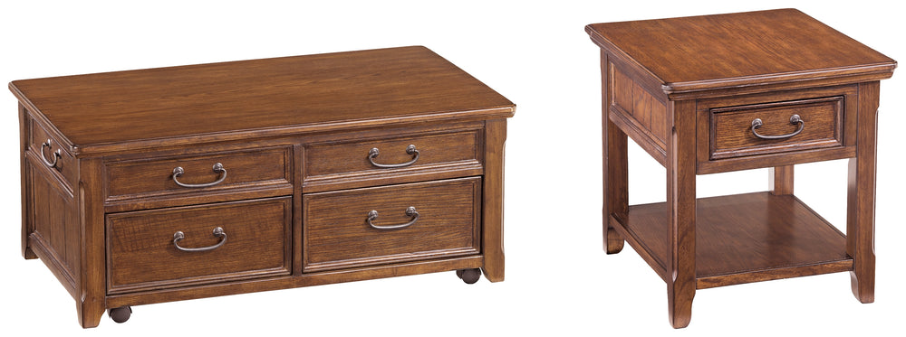Woodboro Signature Design 2-Piece Table Set
