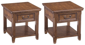 Load image into Gallery viewer, Woodboro Signature Design 2-Piece End Table Set