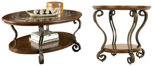 Nestor Signature Design 2-Piece Table Set