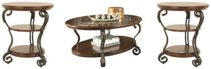 Load image into Gallery viewer, Nestor Signature Design 3-Piece Occasional Table Set