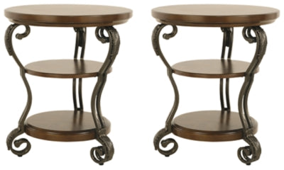 Nestor 2-Piece End Table Set