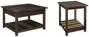 Mestler Signature Design 2-Piece Table Set