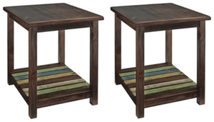 Mestler Signature Design 2-Piece End Table Set