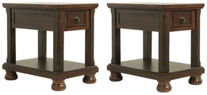 Load image into Gallery viewer, Porter Signature Design 2-Piece End Table Set