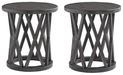 Sharzane Signature Design 2-Piece End Table Set