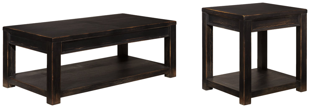 Load image into Gallery viewer, Gavelston Signature Design 2-Piece Table Set