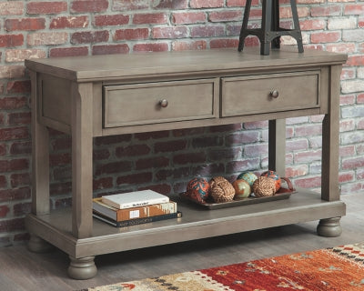 Lettner Signature Design by Ashley Sofa Table