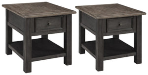 Load image into Gallery viewer, Tyler Creek Signature Design 2-Piece End Table Set