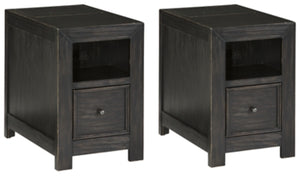 Gavelston Signature Design Chairside 2-Piece End Table Set