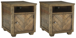Grindleburg Signature Design 2-Piece End Table Set
