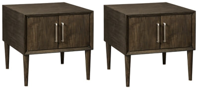 Load image into Gallery viewer, Kisper Signature Design 2-Piece End Table Set