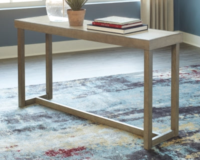 Challene Signature Design by Ashley Sofa Table