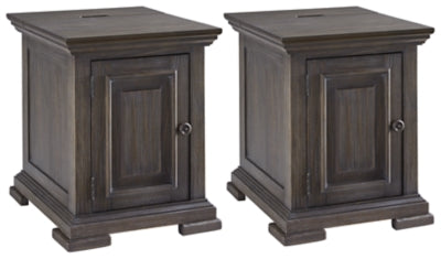 Load image into Gallery viewer, Wyndahl Signature Design 2-Piece End Table Set