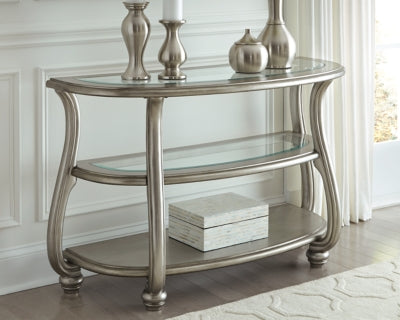 Coralayne Signature Design by Ashley Sofa Table