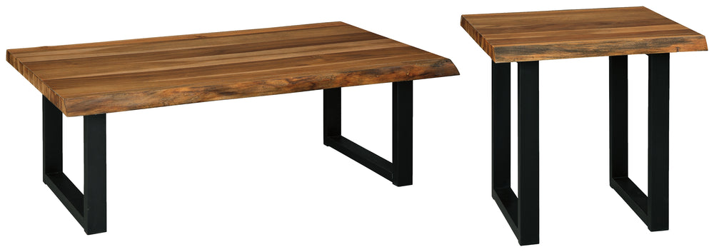 Brosward Signature Design 2-Piece Table Set