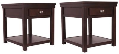Hatsuko Signature Design 2-Piece End Table Set