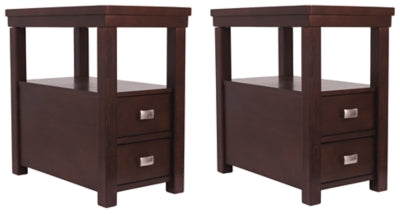 Hatsuko 2-Piece End Table Set