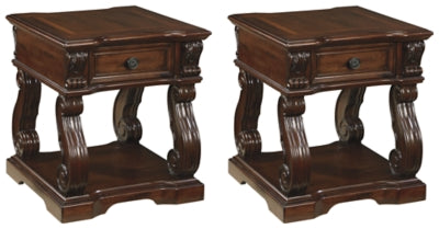 Load image into Gallery viewer, Alymere Signature Design 2-Piece End Table Set