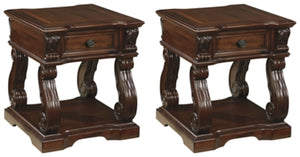 Alymere Signature Design 2-Piece End Table Set