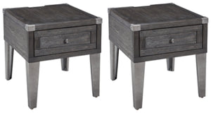 Load image into Gallery viewer, Todoe Signature Design 2-Piece End Table Set
