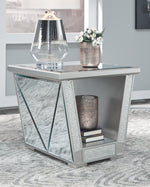 Fanmory Signature Design by Ashley Square End Table
