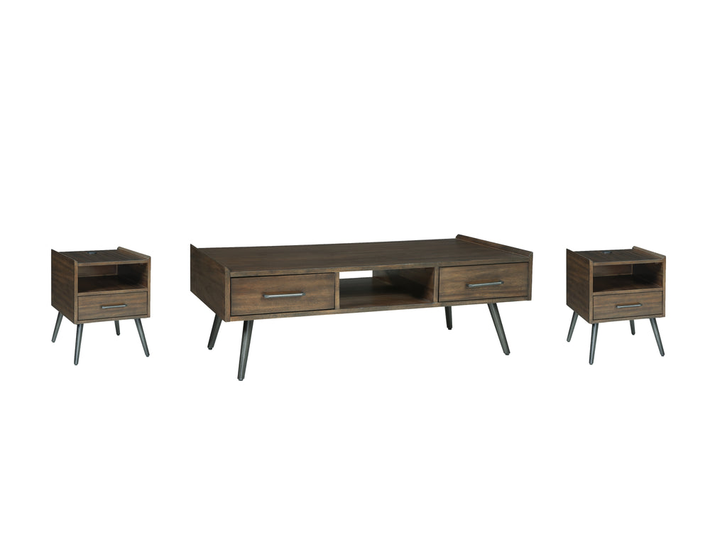 Calmoni Signature Design 3-Piece Occasional Table Set