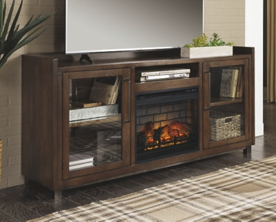 Starmore Signature Design by Ashley 70 TV Stand with Electric Fireplace