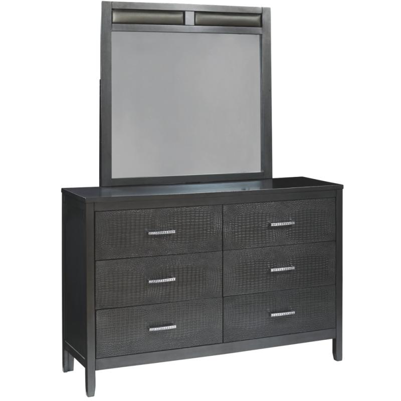 Delmar Benchcraft Dresser and Mirror