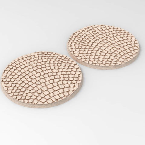2 Pavement Bases (80mm Round)