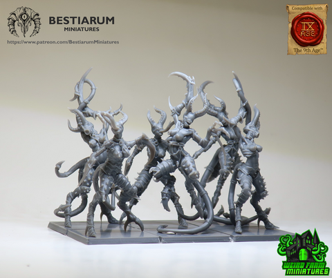 Demonetes - Large for 40mm bases