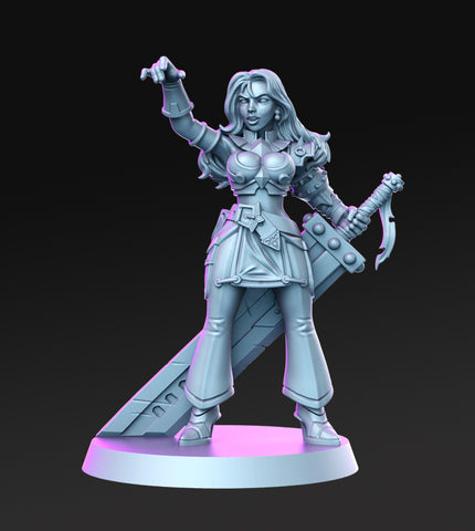 Margie - Female wizard- 32mm - DnD