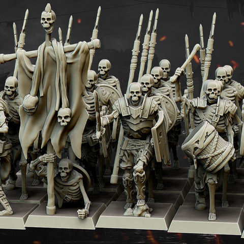 Skeleton Spearmen
