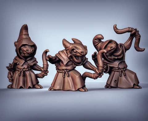 Cave Kobolds with Bows