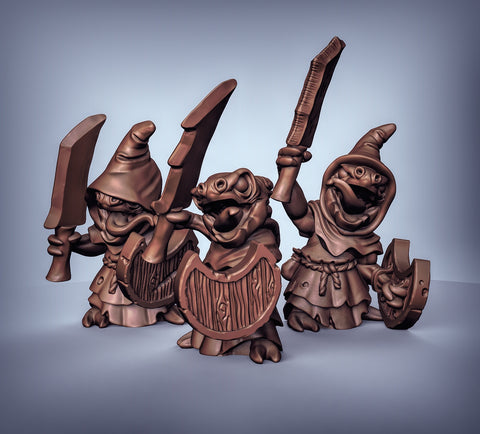 Cave Kobolds with Sword and Shield