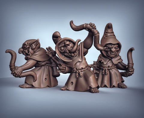 Goblin Archers (hooded)
