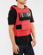 PIMPIN PLAY VEST (841/920)-COLOR: RED