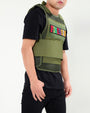 FINESSIN MESH VEST(900/916)-COLOR: OLIVE