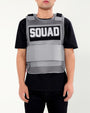 SQUAD MESH VEST(900/921)-COLOR: HEATHER GREY