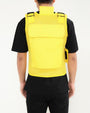 HUSTLIN MESH VEST (900/919)-COLOR: YELLOW