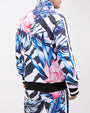 BOLD PATTERN LEAF TRACK JACKET