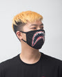 Shark Mouth Face Mask-COLOR: BLACK