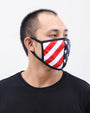 NASA STARS AND STRIPES FACE MASK
