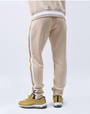SIDE STRIPE PASTEL TRACK PANT-COLOR: SAND