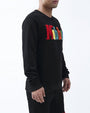 BIG AND TALL MOBBIN CREWNECK-COLOR: BLACK